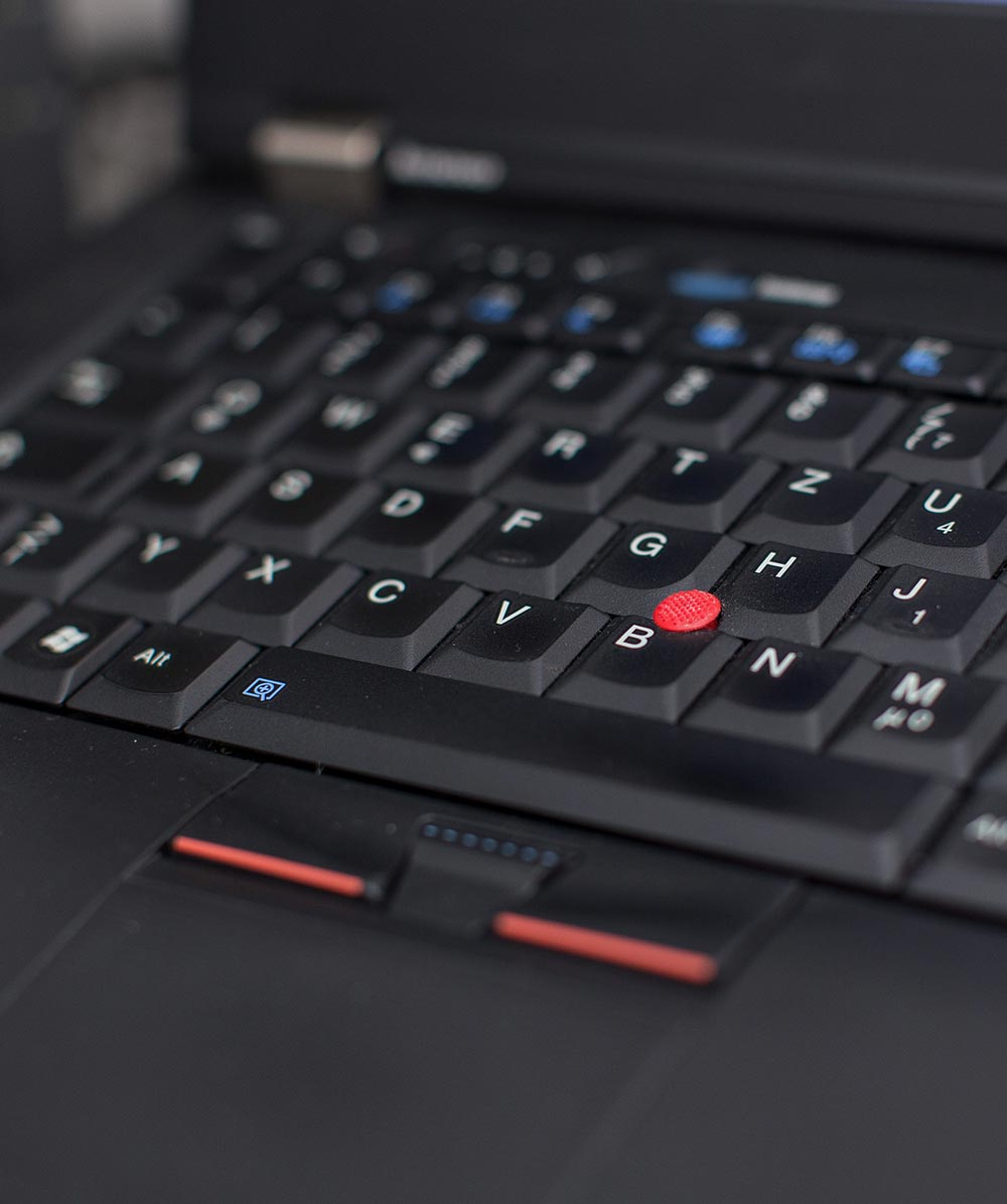 Lenovo Keyboard Closeup